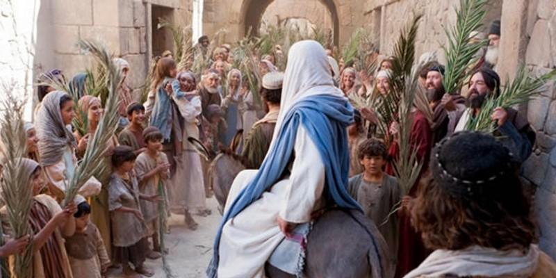 A Entrada Triunfal de Jesus